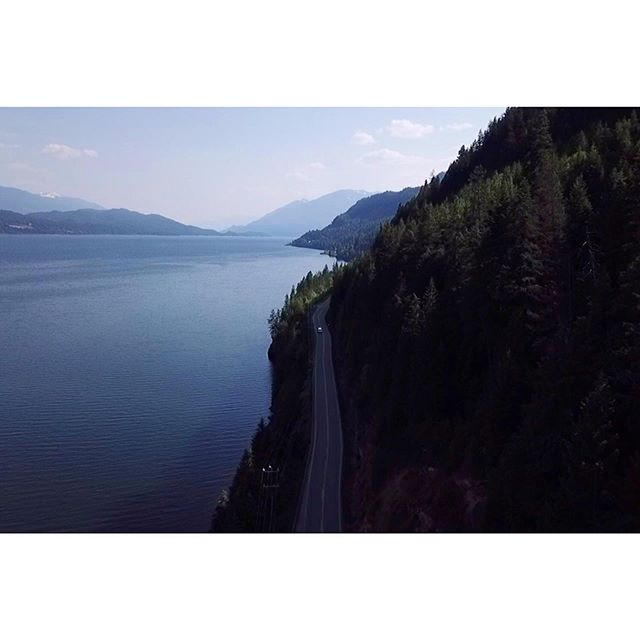 The fact that I get paid to do this is hysterical, and I probably don't deserve it. . . . #nelson #kootenays #britishcolumbia #canada #canadaeh #dronography #djimavicpro #dronephotography #mountaintrek #landscape #kootenaylake #kokaneebeer #sorry