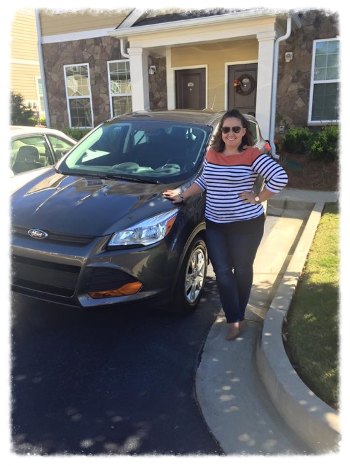 Me and My New Car; 2016 Ford Escape