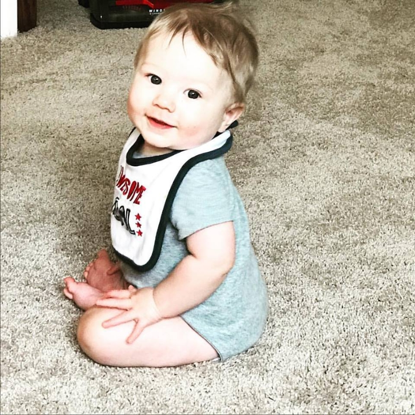 Ya'll I can't even... He is the cutest stinkin thing!