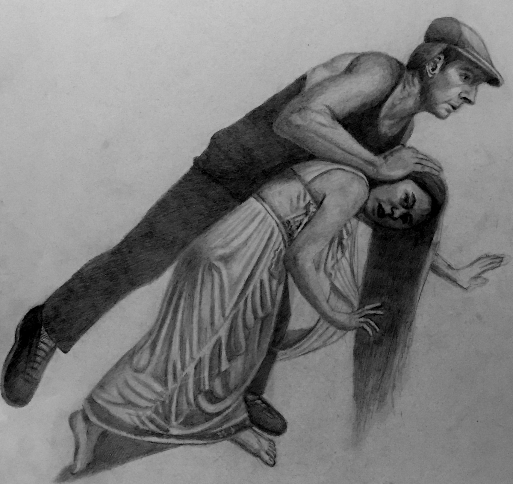 Study for The Murder of Hypatia