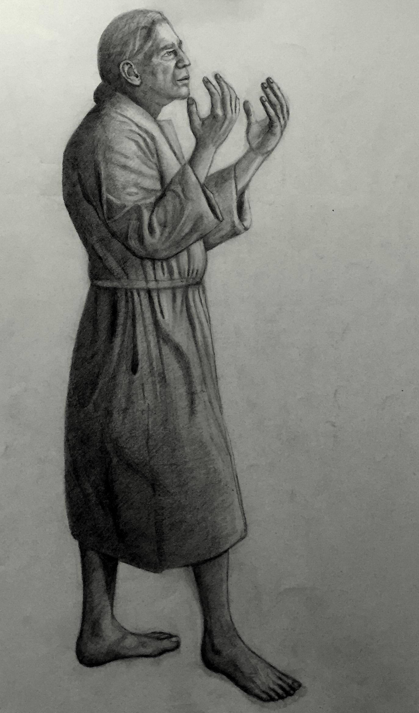 """Study for """"The Sacrifice"""""""
