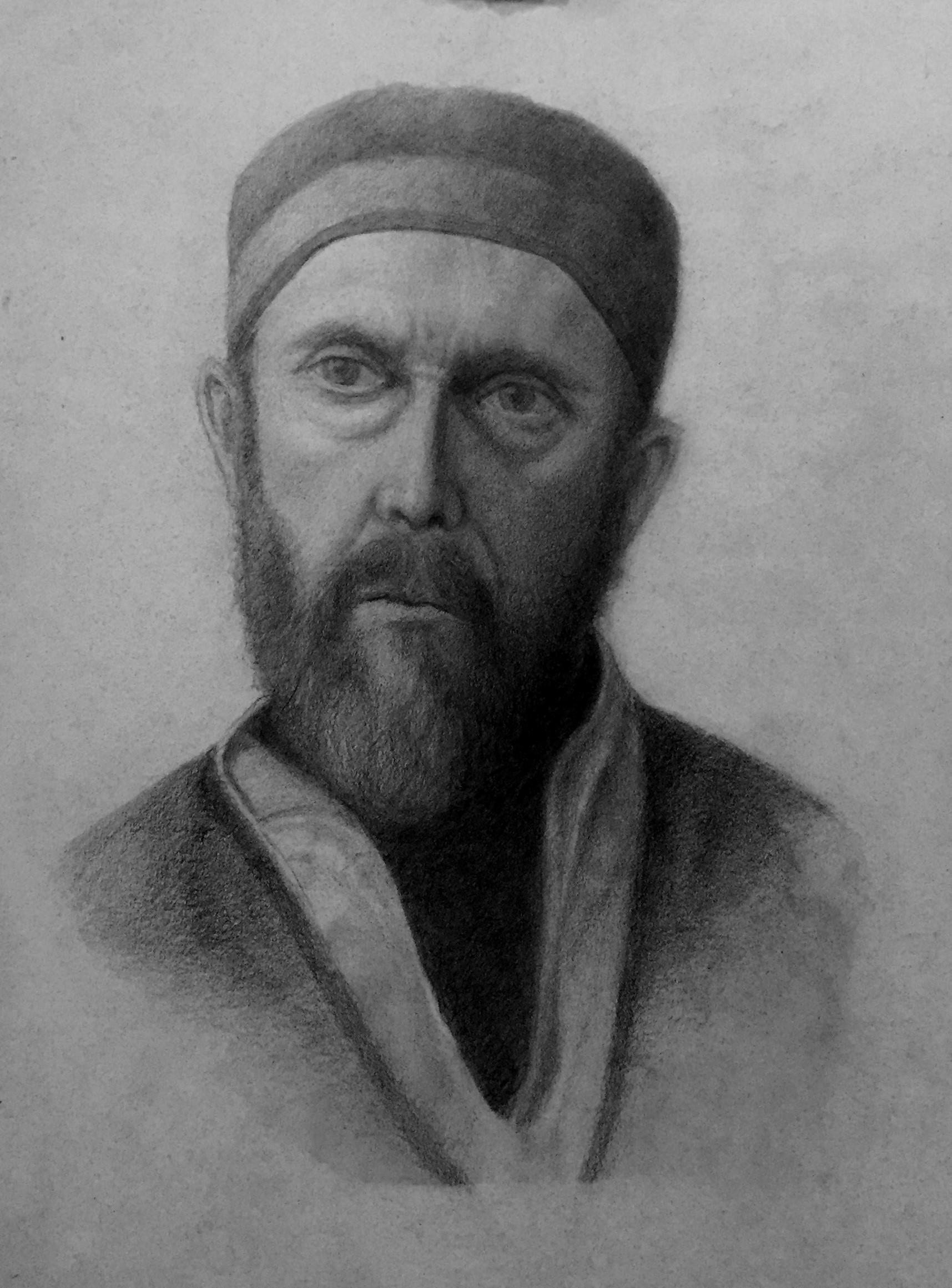 An Imaginative Portrait of the Kabbalaist