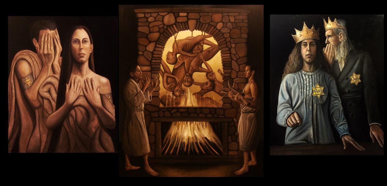 Inhumanity Triptych