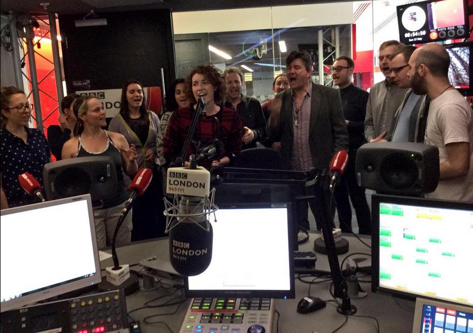 BBC London 17 May 2015 studio