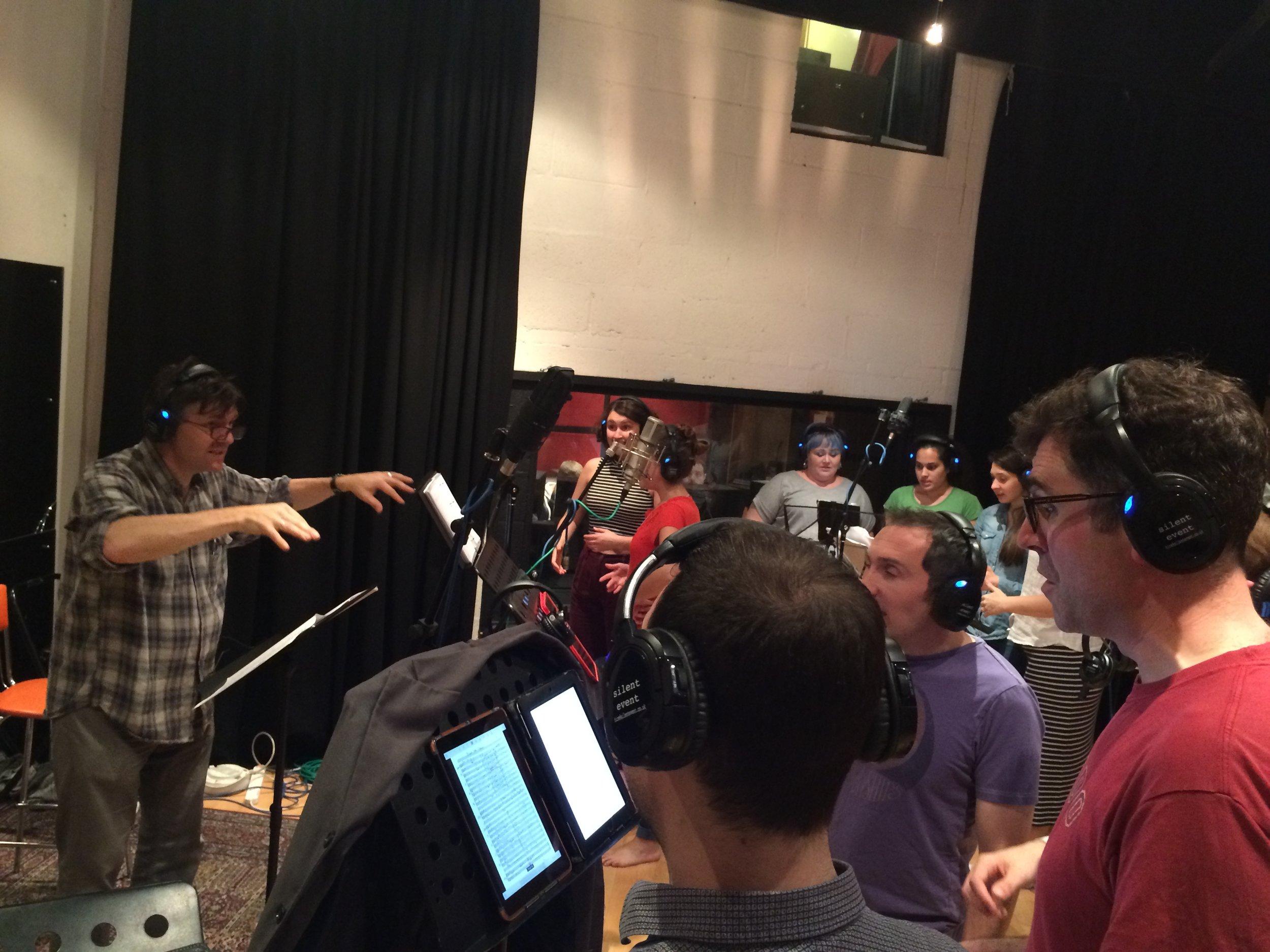 Recording Miles Ahead, London, 2016