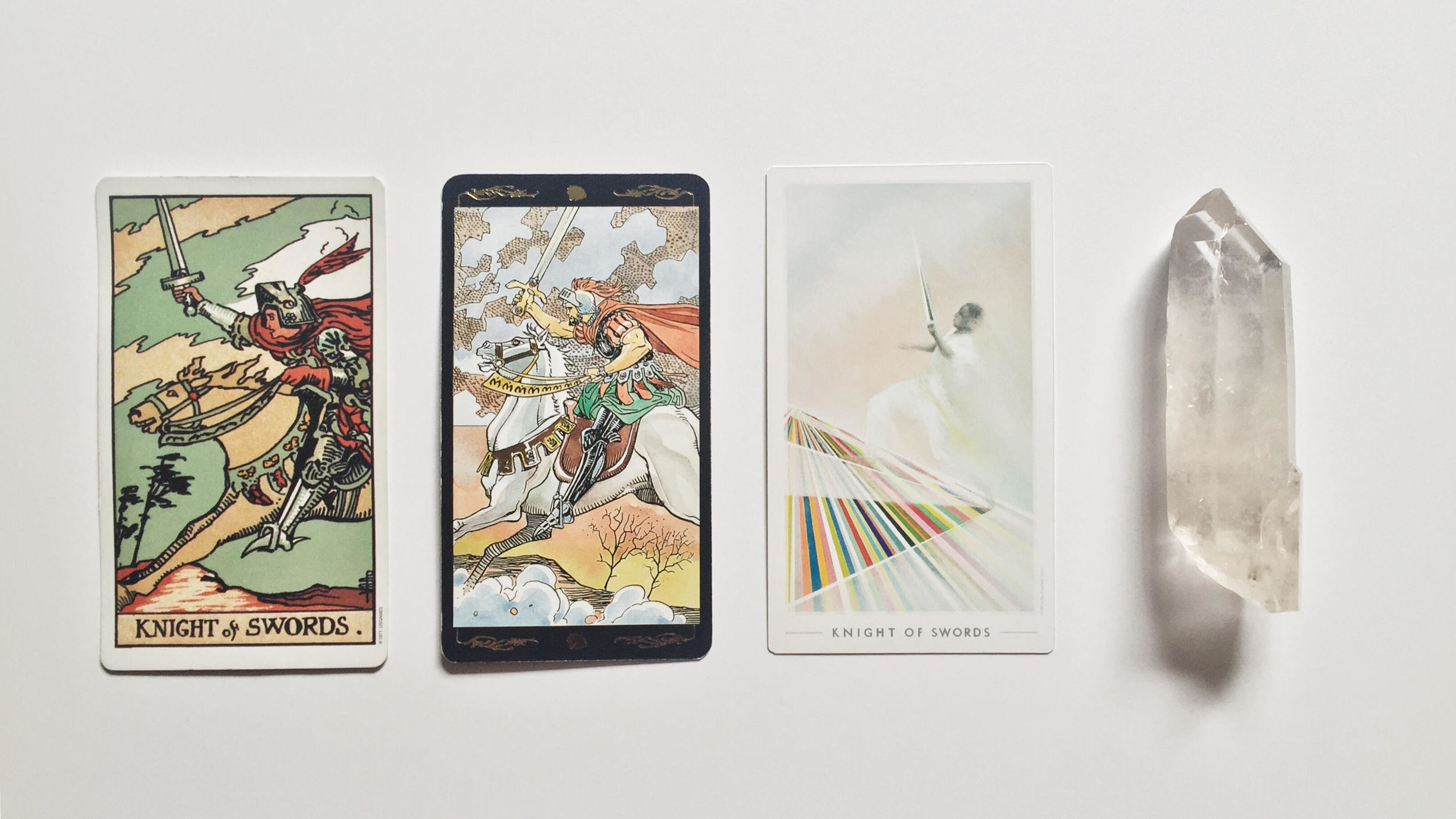 Digging the Roots: What the Knight of Swords Reveals About