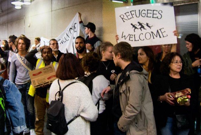 Välkommen till vad? Två år av asylutredning och boende på gatan?