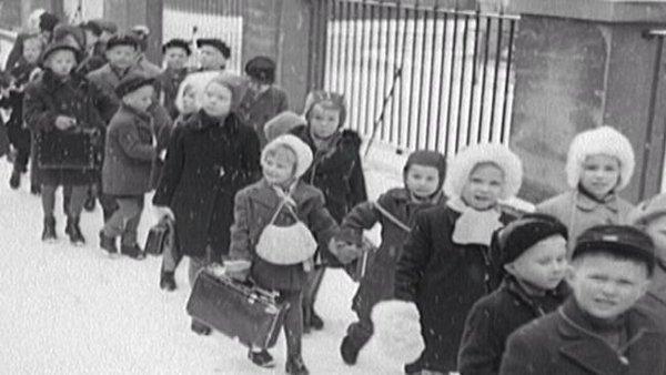 Ensamkommande flyktingbarn från Finland under Andra Världskriget