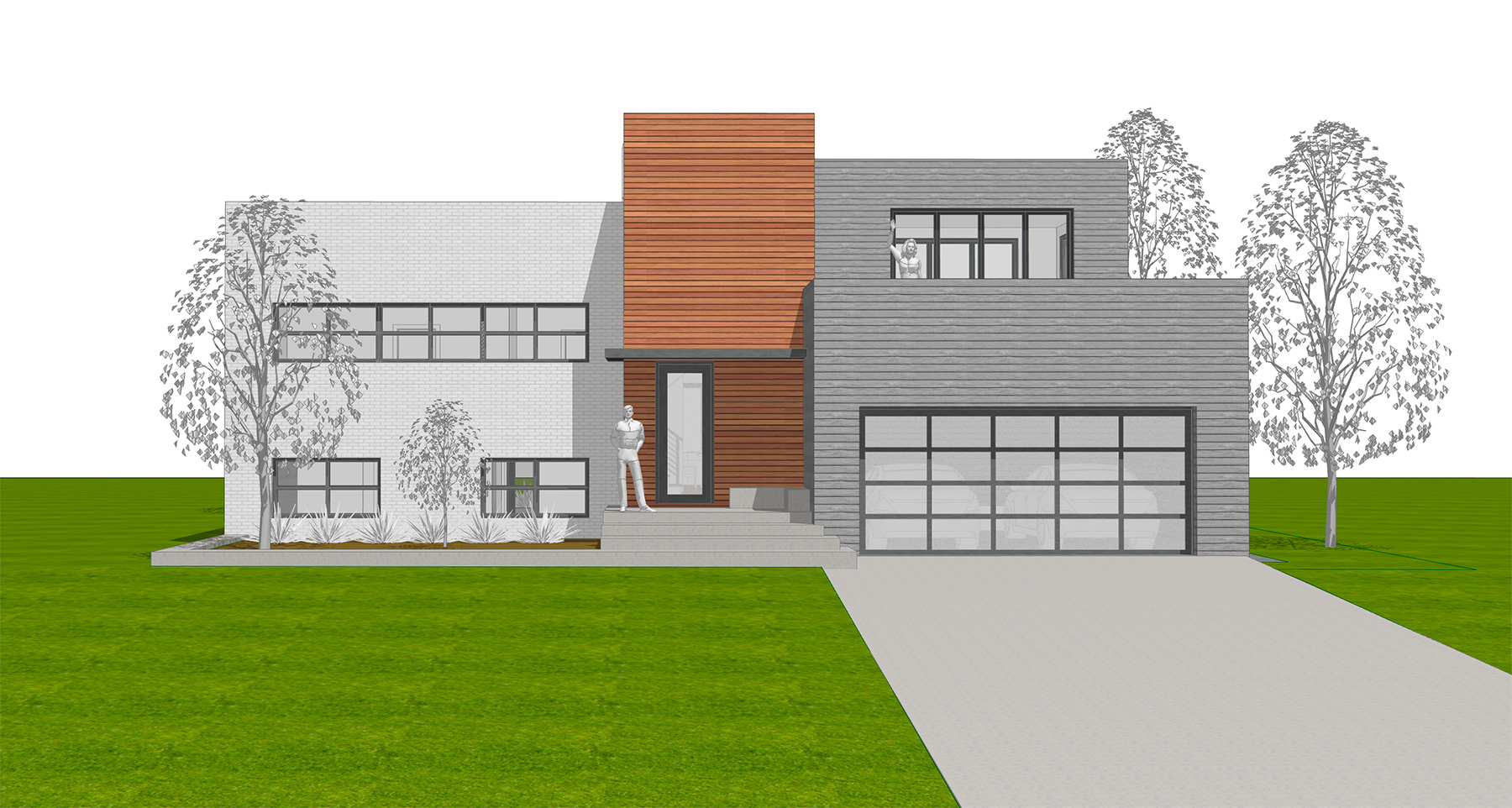 PROPOSED FRONT PERSPECTIVE