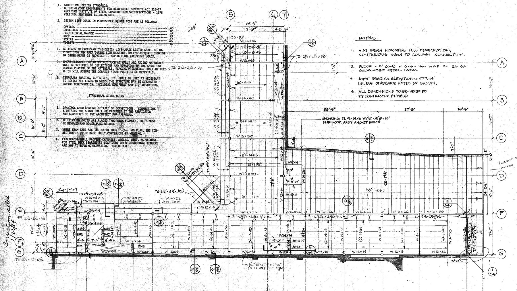 EXISTING STRUCTURAL DRAWINGS