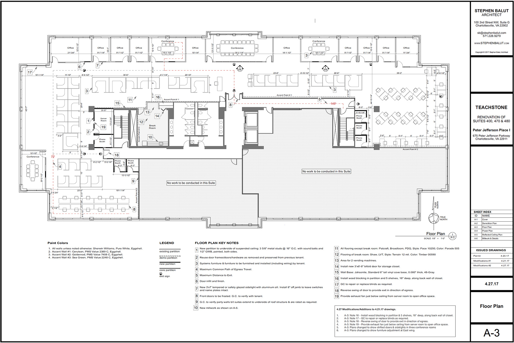 PROPOSED TEACHSTONE FLOOR PLAN