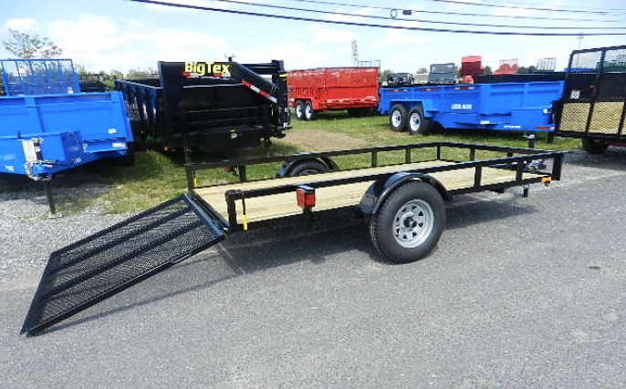"""The Truck """"Farm"""" trailer started out as an empty trailer."""