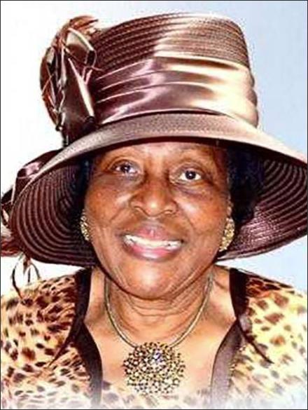 Mrs. Alease Wright, mother of Gemma's Angels Board Member Nelva Wright