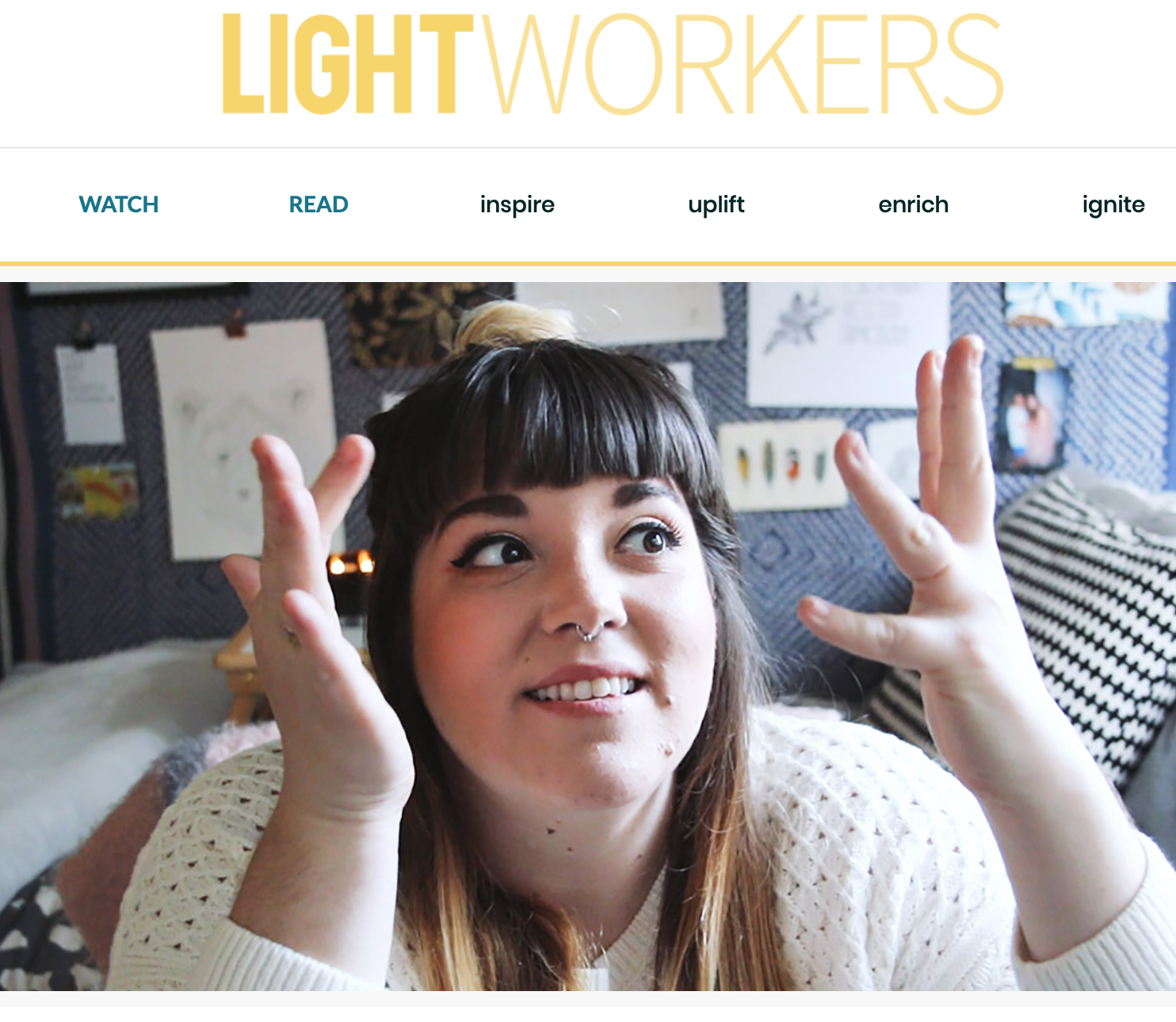 I made a web series with Lightworkers? You BET i did! -