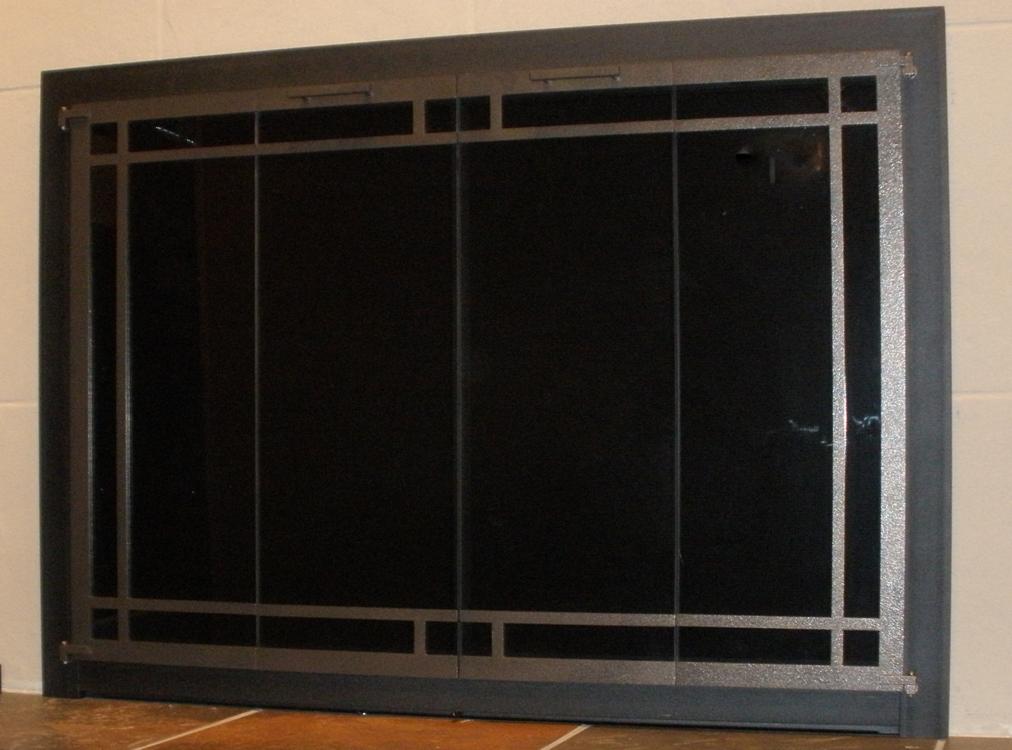 original square windowpane clearview