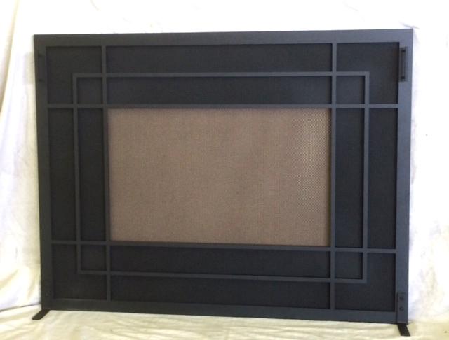 oversized design for prefab fireplace