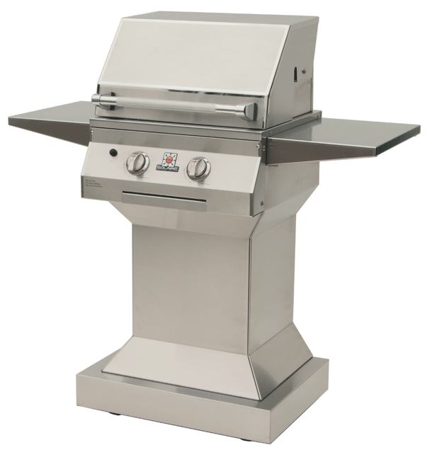 """Solaire 21"""" infrared cart grill"""
