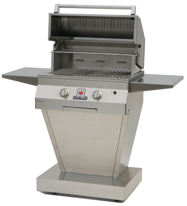 """solaire 27"""" infrared cart grill"""