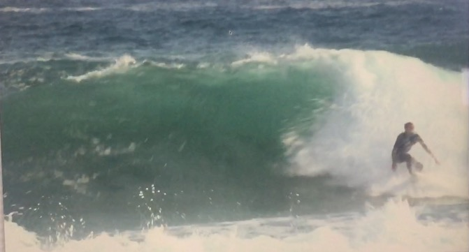 Surfing at rubbish tips rights