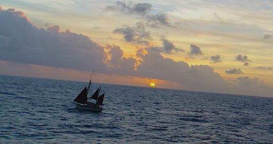 After passing the halfway mark, Starlight cruises off into the sunset with an air of confidence about her. But how where the crew to know what was over the horizon? Torn sails, record speeds and a serious plumbing issue made the Starlight news bulletin this time round...