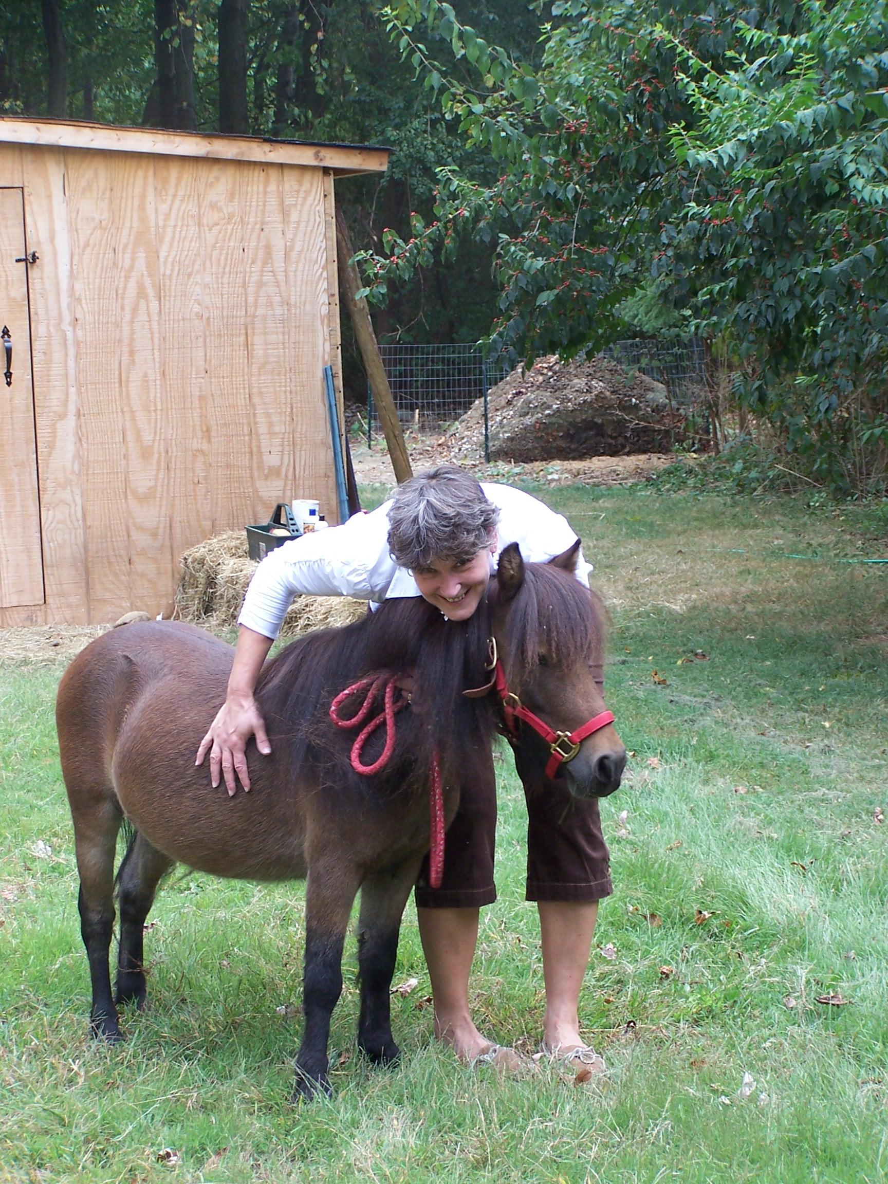 Gina hugging Hershey.jpg