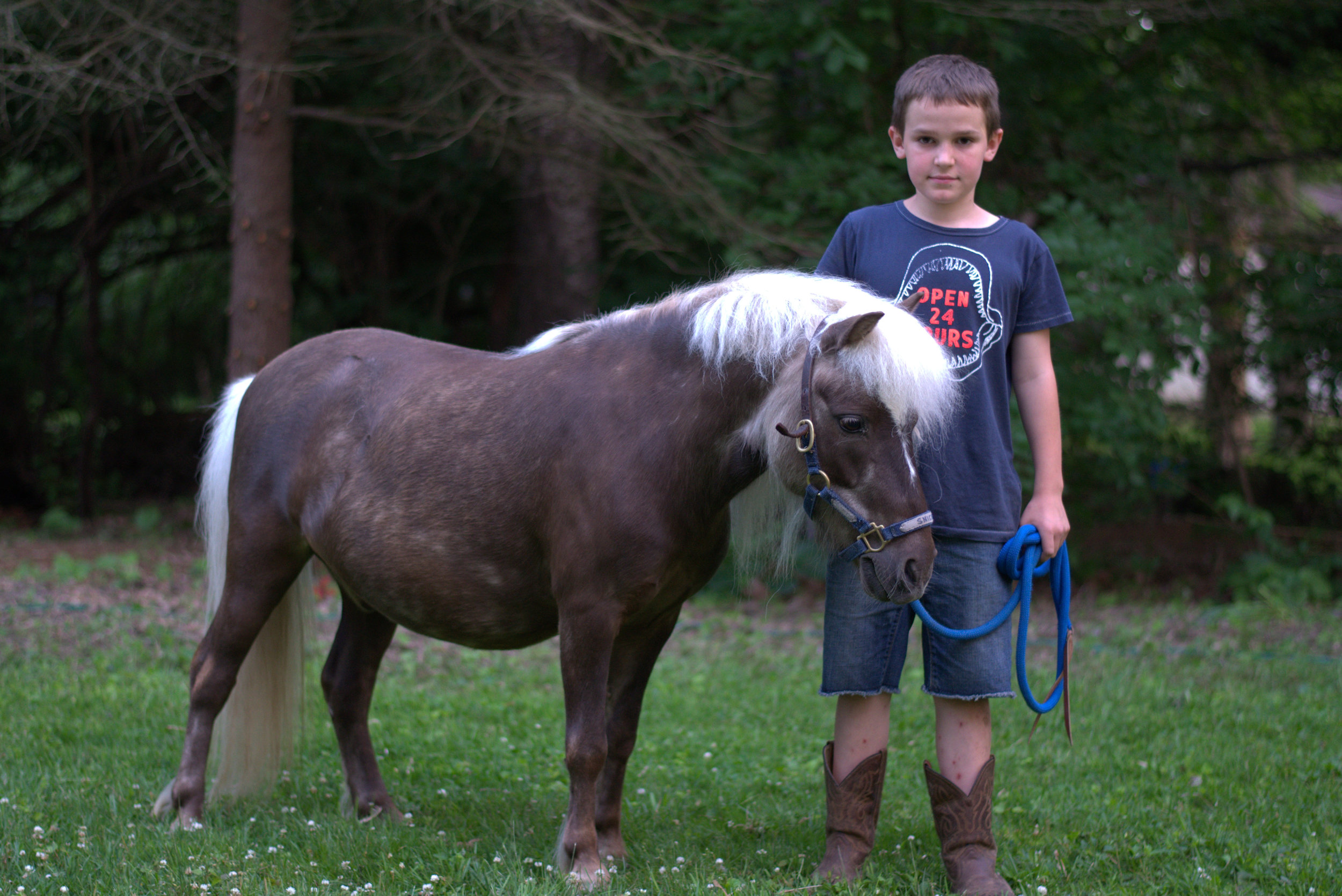 Ethan and Snickers June 2015 2.jpg