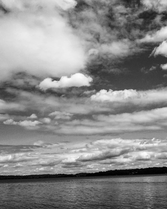 Contrast. #contrast #clouds #artinthesky #beautifulday #blackandwhitelandscape