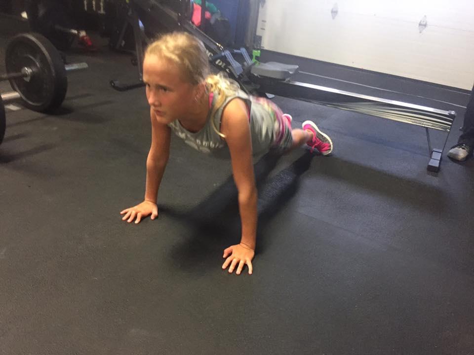 Emma making it look easy ...