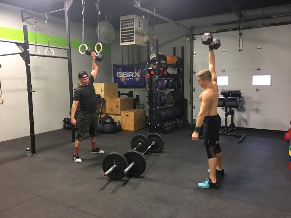 Ready for more dumbbell movements? Two more workouts to go for this Open Season. Move efficiently and effectively with the dumbbell clean & jerk:   Dumbbell Clean & Jerk