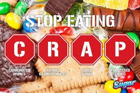 "Simple concept but harder for some to accept. Gary Taubes: ""You Have to Get Rid of the Sugar and Crap Carbs""   Get Rid of the Sugar and Crap Carbs"