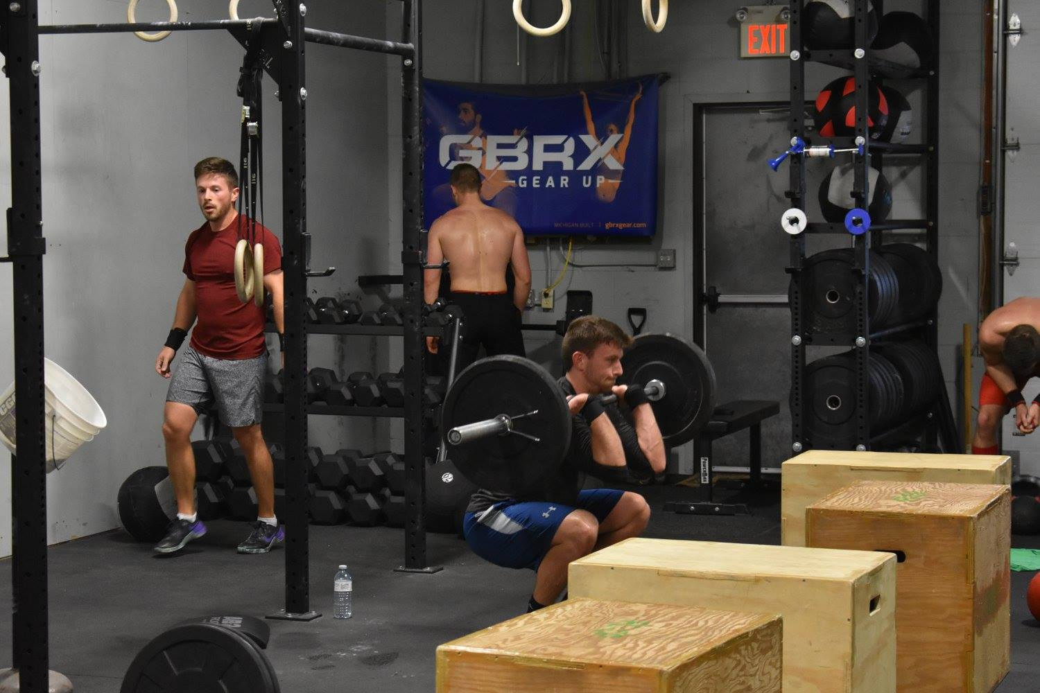It is always good to review the basic points of performance. Check out the quick video on putting together the Hang Clean with the Push Jerk:   Hang Clean and Push Jerk