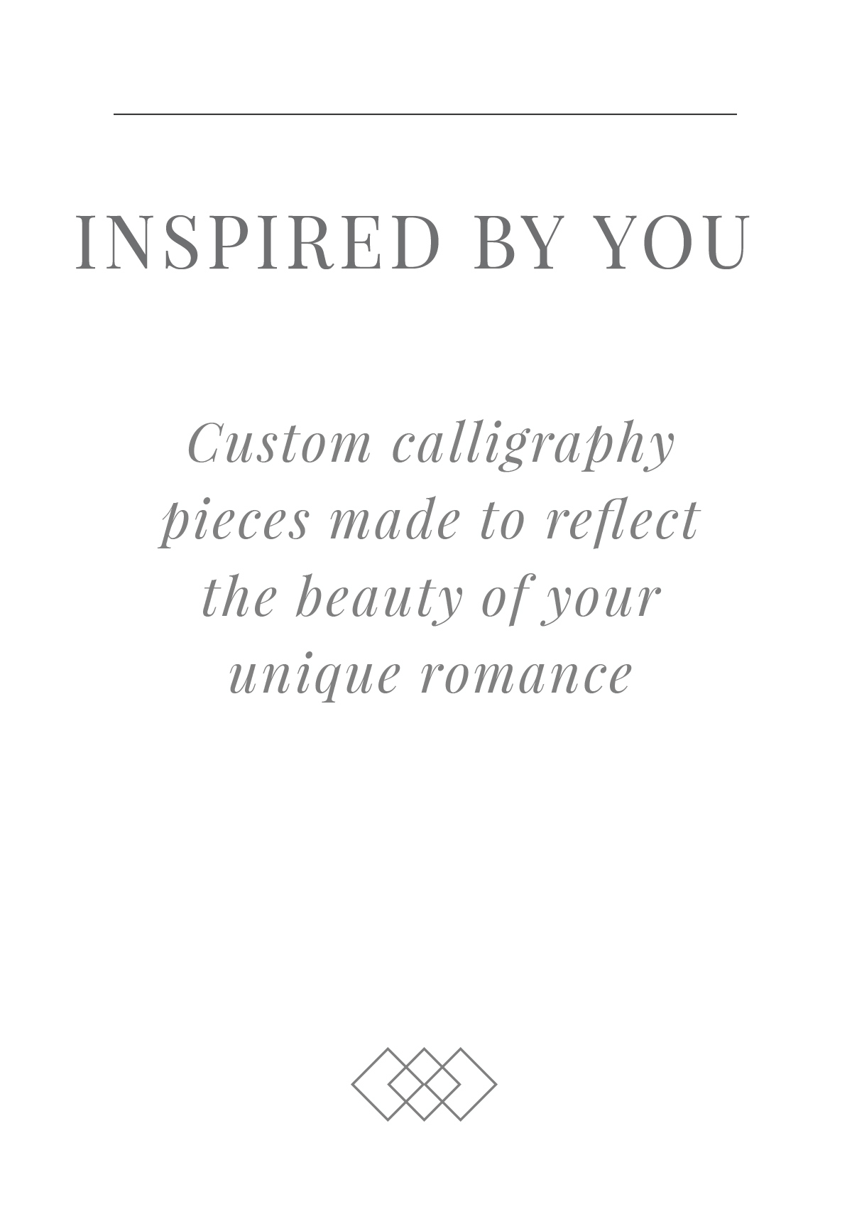 CustomCalligraphyBespokeStrokesCalligraphy