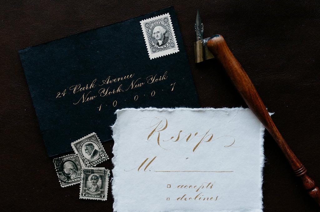 RSVP Envelope in Windsor Style