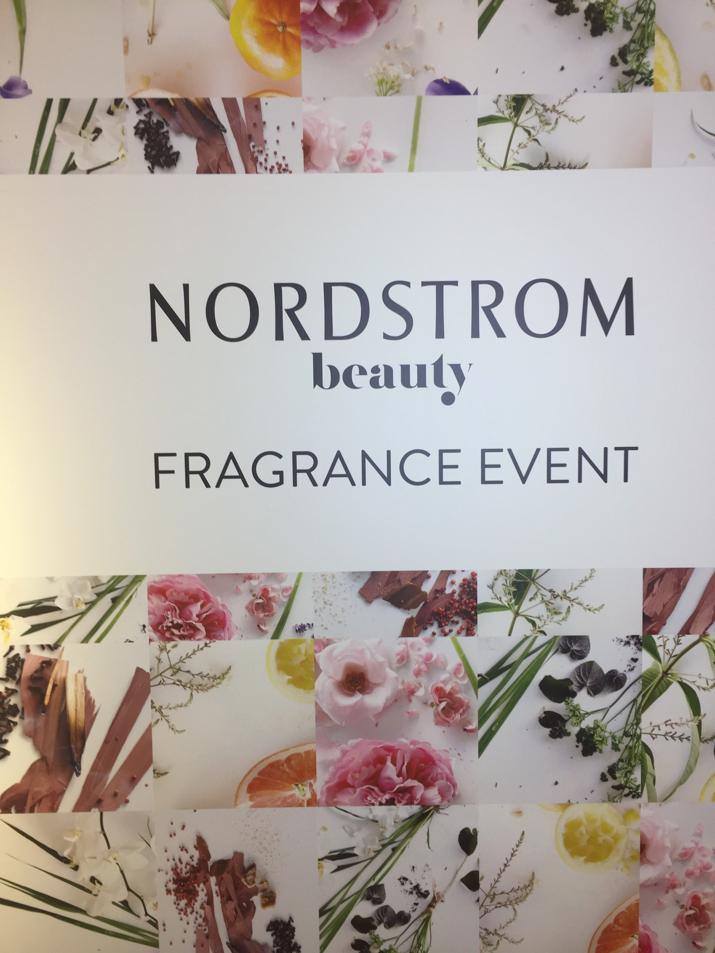 Nordstrom Scent Event Engraving