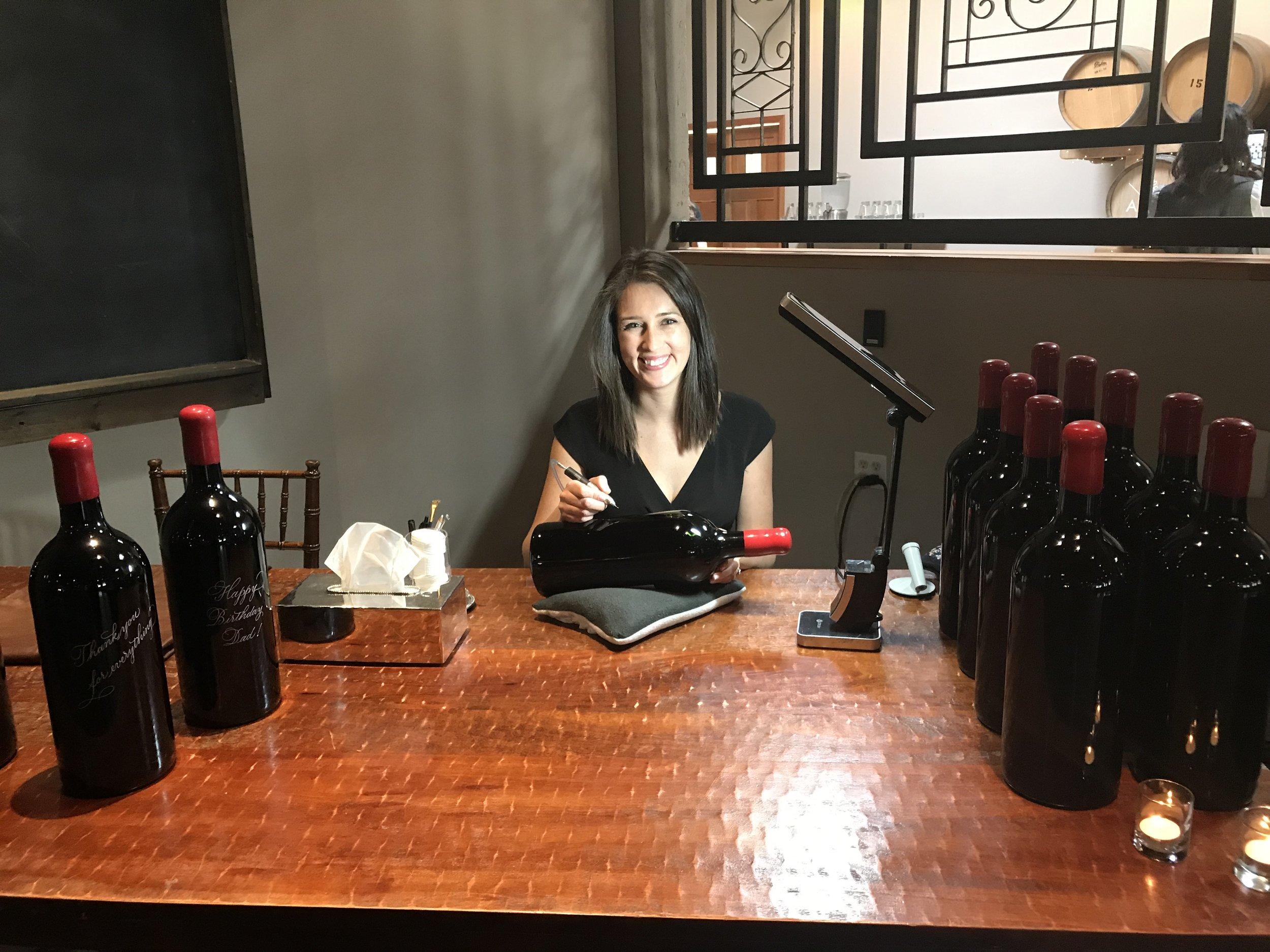 Seattle Wine Bottle Engraver