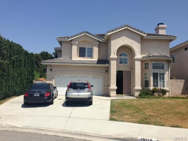 19119 Breckelle St.  Rowland Heights, 91748  6 Bed / 7 Bath / 3806sqft.  Sold for: $845,000