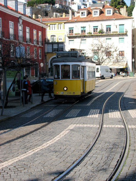 Another symbol of Lisbon that reminds of us San Francisco