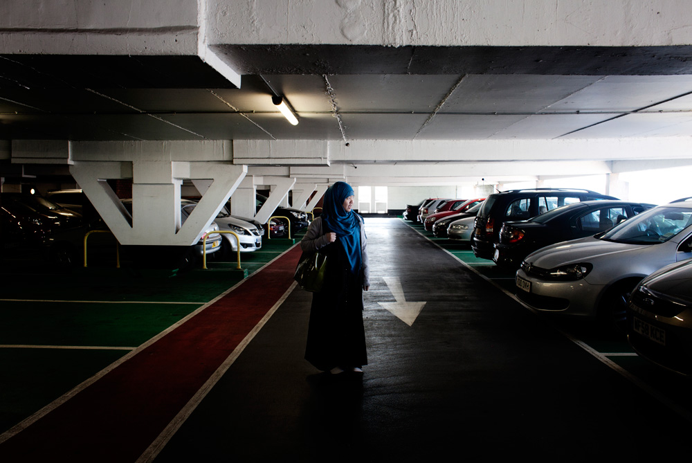 Khadija is born and raised in Manchester to Chinese parents. She converted when she was living in Exeter and to this day she still has not told her family who raised her Budhist. She removes her hijab when she visits home and feels that she is denying her religion. She is planning to tell them soon.