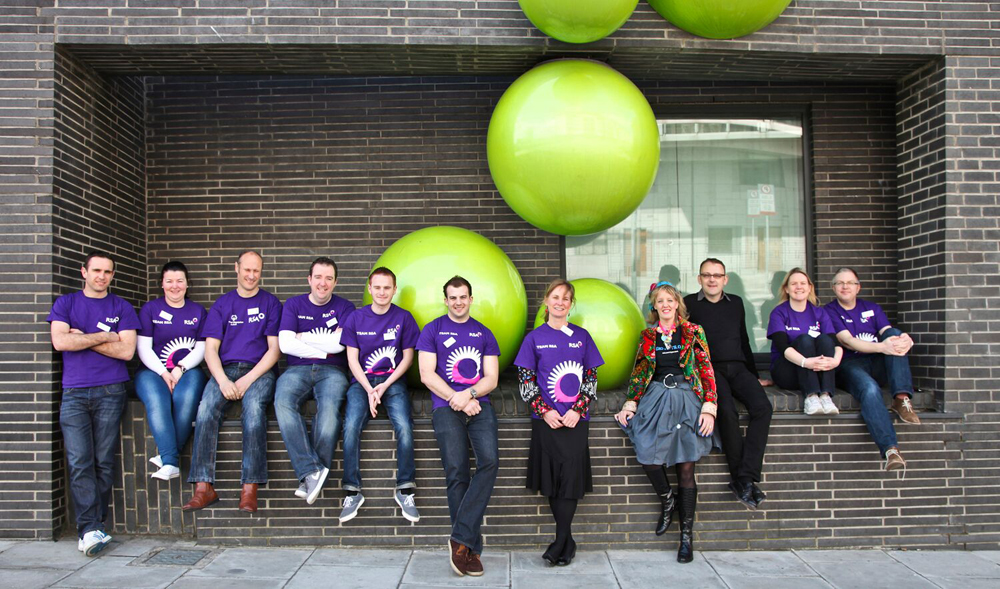 Creativity teamed up with business at theLir Academy, Dublin. Royal Sun Alliance & Gig-Arts