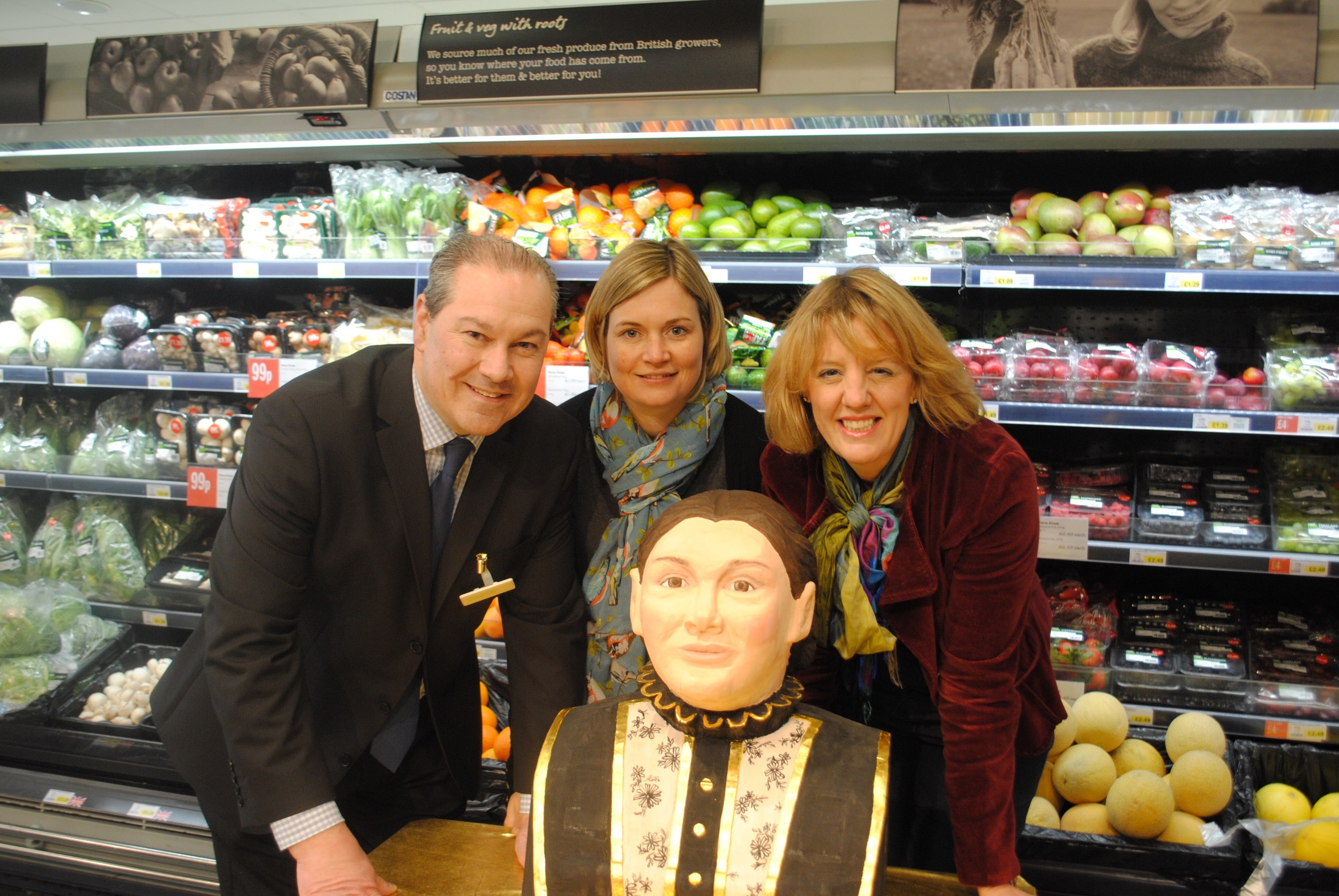 Tour Launch at Warners Budgens