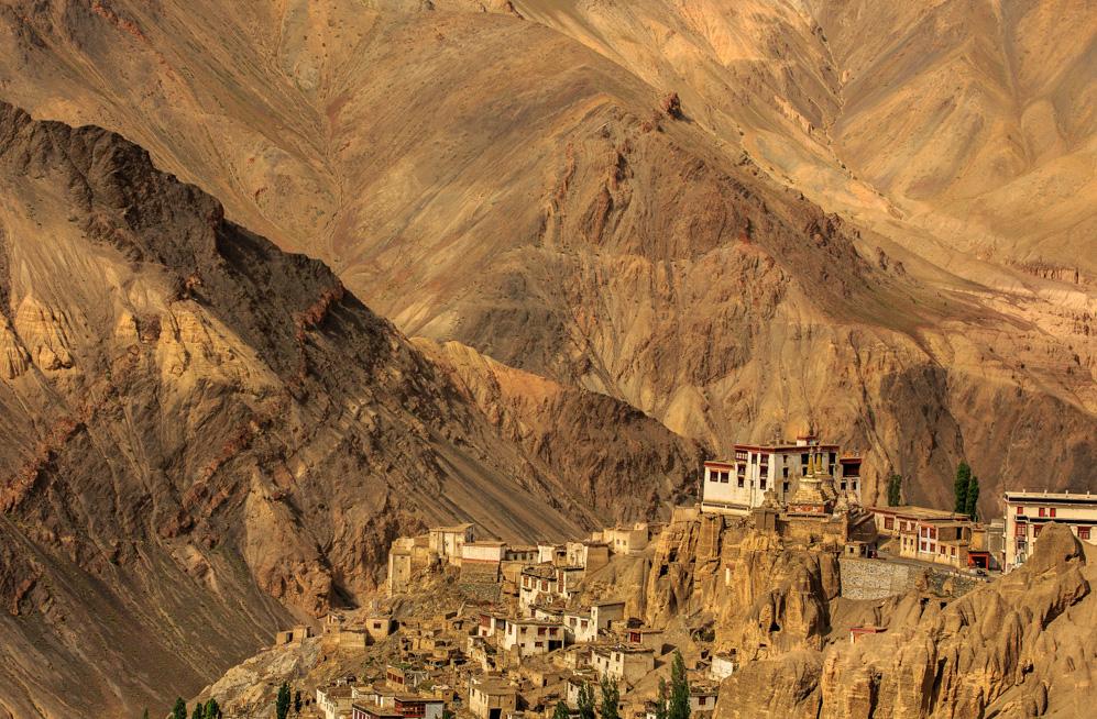 Monastery in the Mountains,Ladakh