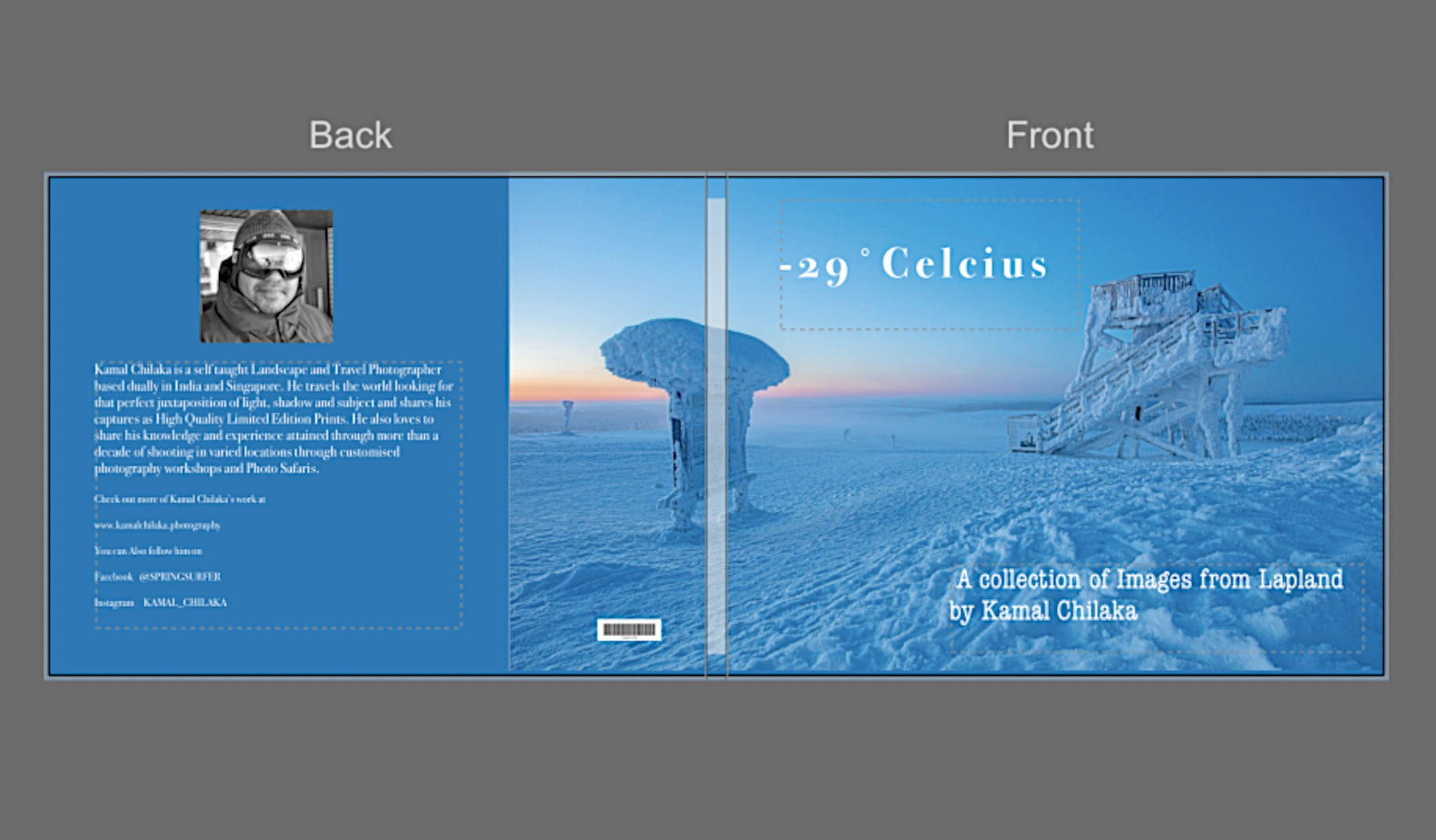 """-29˚CELCIUS""  A COFFEE TABLE BOOK"