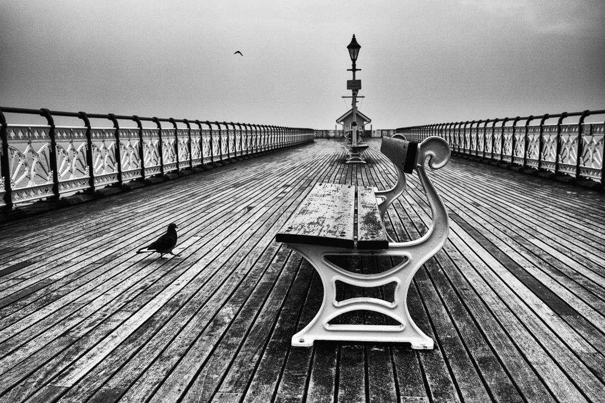 Penarth Pier on an Overcast Day