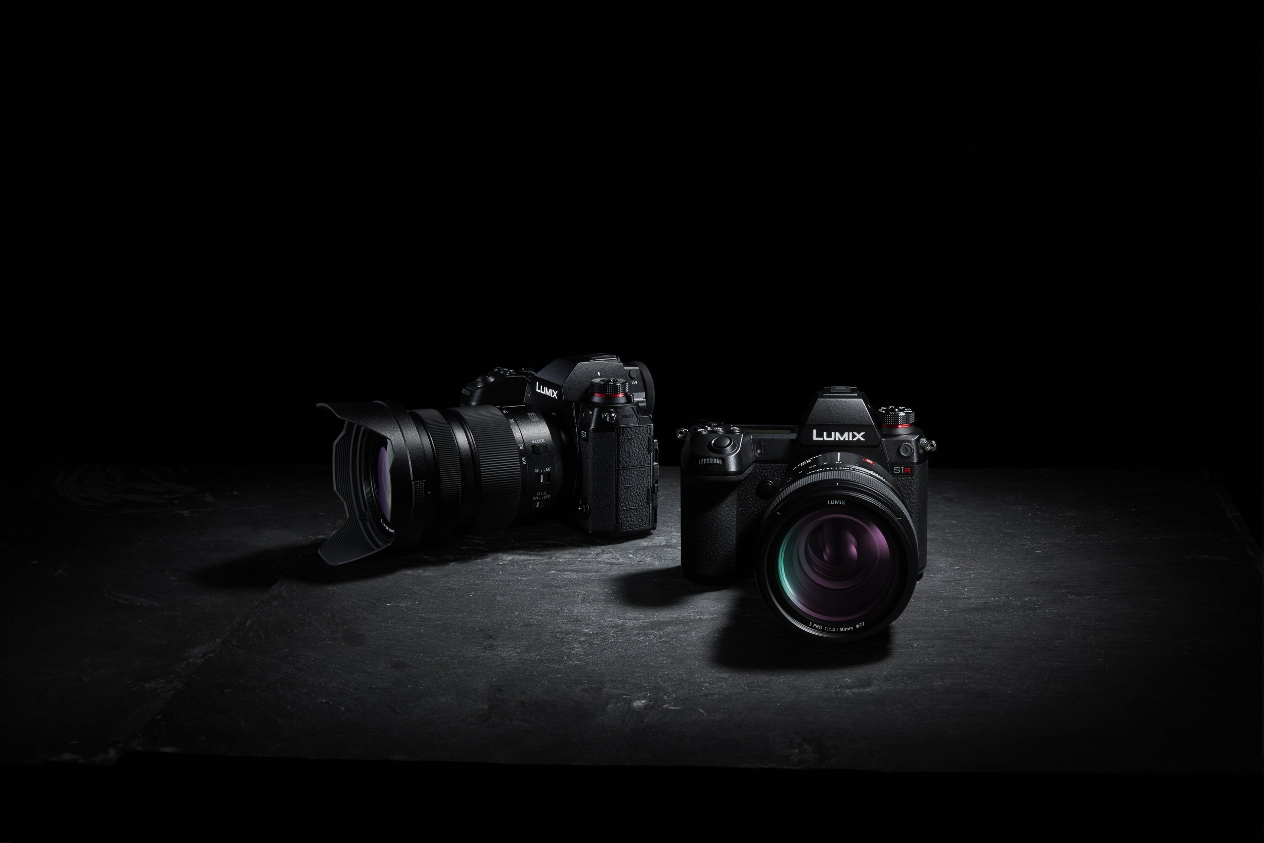 Panasonic S1 and S1R Pro Level Full Frame Mirrorless Cameras with Leica L Mount