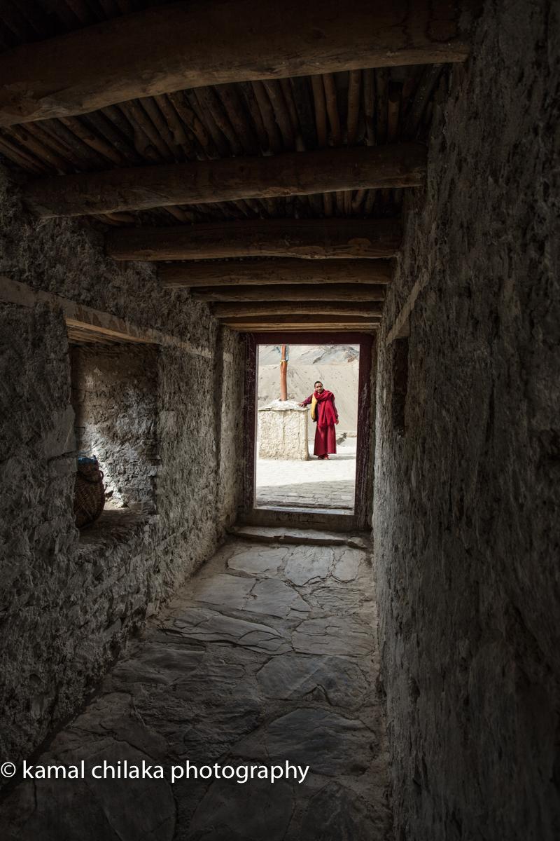 Young Monk at Lamayuru Monastery