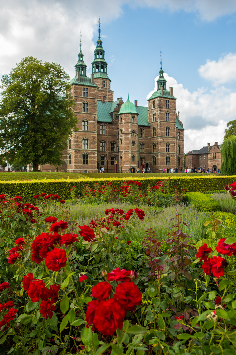 Rosenborg Castle and Gardens one of the oldest gardens in Copenhagen