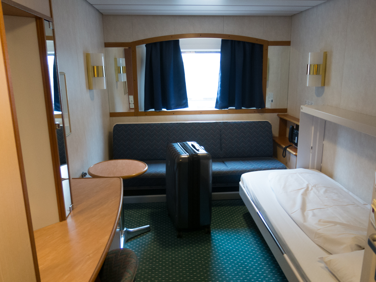 My Sea View Cabin for the Cruise