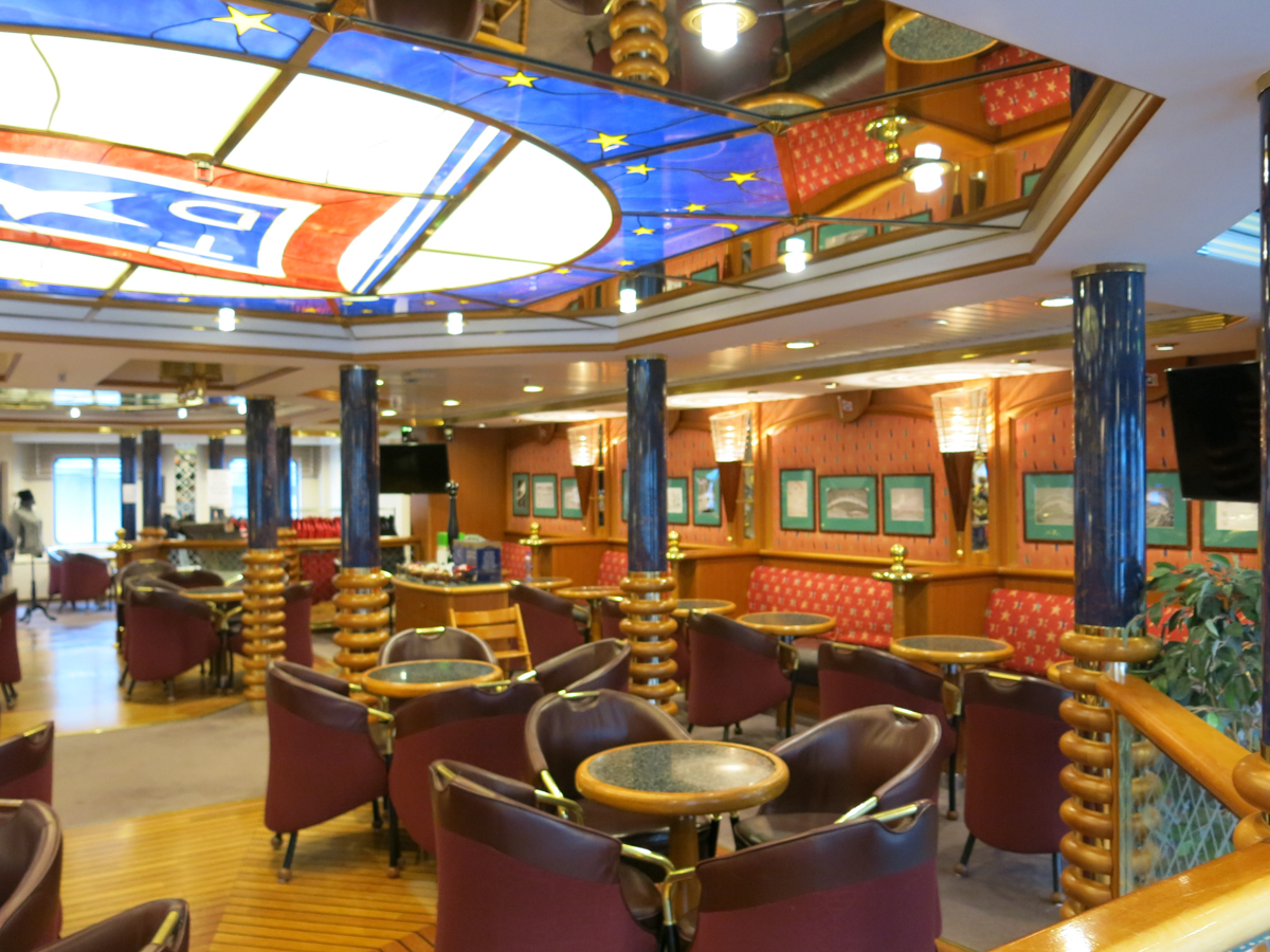 Dining Area in the Ship