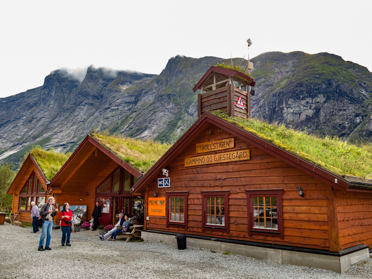 Visitor Center and Curio Shop at Trollstigen Pass