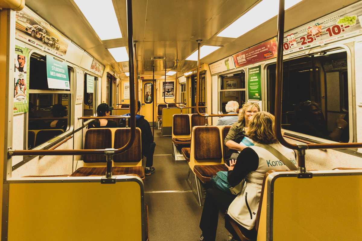 Riding the Stockholm Subway